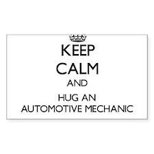 Keep Calm and Hug an Automotive Mechanic Decal