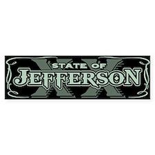 Jefferson XX State Bumper Sticker