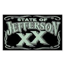 Jefferson XX State Decal