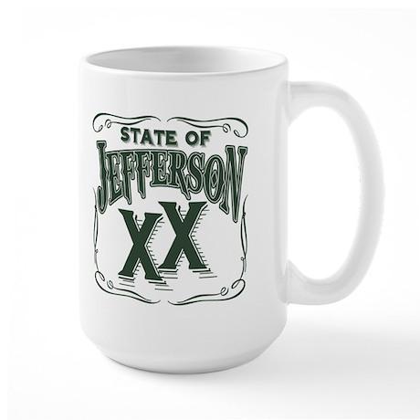 Jefferson XX State Large Mug