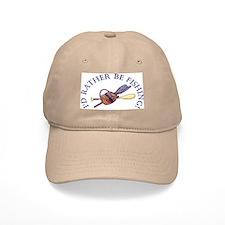 I'd Rather Be Fishing! Baseball Baseball Cap