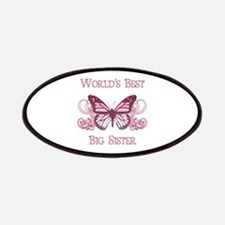 World's Best Big Sister (Butterfly) Patches