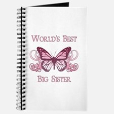 World's Best Big Sister (Butterfly) Journal