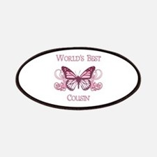 World's Best Cousin (Butterfly) Patches