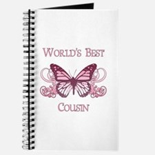 World's Best Cousin (Butterfly) Journal