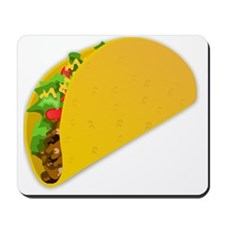 taco vector illustration Mousepad