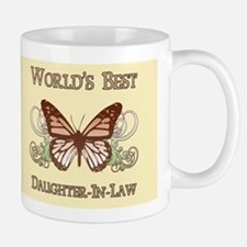 World's Best Daughter-In-Law (Butterfly) Mug