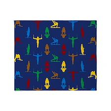 Mens Gymnastics Throw Blanket