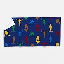 Mens Gymnastics Beach Towel