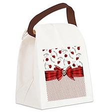 Little Ladybugs Canvas Lunch Bag
