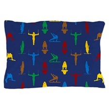 Mens Gymnastics Pillow Case