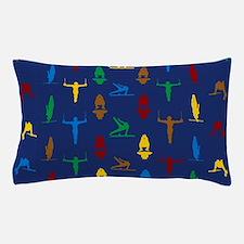 Mens Gymnastics Pillow Case