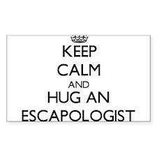 Keep Calm and Hug an Escapologist Decal