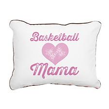 Basketball Mom Rectangular Canvas Pillow