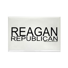 Reagan Republican Rectangle Magnet