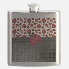 Ladybugs Flask