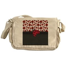 Ladybugs Messenger Bag