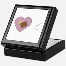 Heart Pin Cushion Keepsake Box