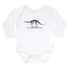 Future Paleontologist Long Sleeve Infant Bodysuit