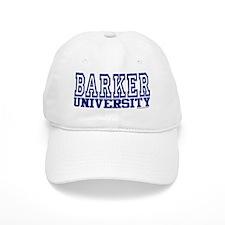 BARKER University Baseball Cap