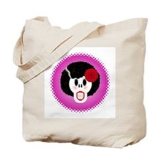 Old Gurl Afrohair Tote Bag