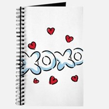 XOXO with Hearts Journal