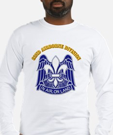 DUI - 82nd Airborne Division with Text Long Sleeve