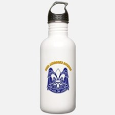 DUI - 82nd Airborne Division with Text Water Bottle