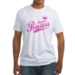 Angolan Princess Fitted T-Shirt