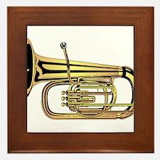 Tuba Framed Tile