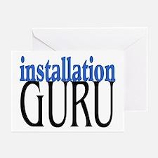Installation Guru Greeting Cards (Pk of 10)