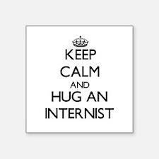 Keep Calm and Hug an Internist Sticker