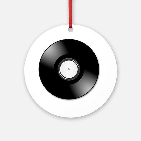 Vinyl Record Ornament (Round)