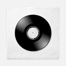 Vinyl Record Queen Duvet