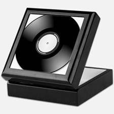 Vinyl Record Keepsake Box