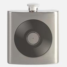 Vinyl Record Flask