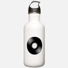 Vinyl Record Water Bottle