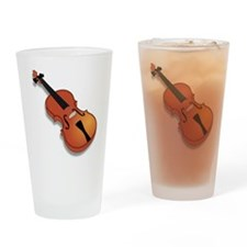 Violin Drinking Glass