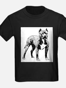 Staffordshire Bull Terrier Ash Grey T-Shirt