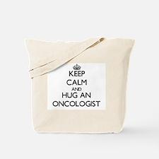 Keep Calm and Hug an Oncologist Tote Bag