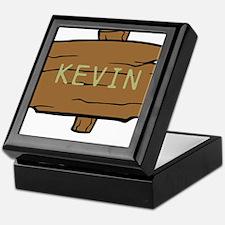 NAME, selectable Text Keepsake Box