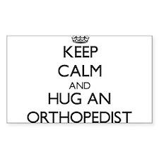 Keep Calm and Hug an Orthopedist Decal