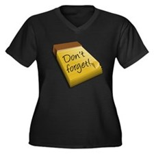 Dont Forget Notepad Plus Size T-Shirt