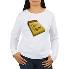 Dont Forget Notepad Long Sleeve T-Shirt