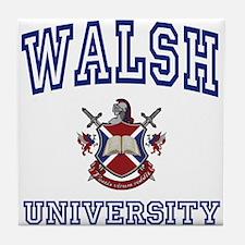 WALSH University Tile Coaster