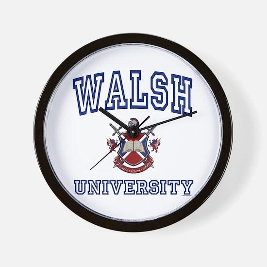 WALSH University Wall Clock