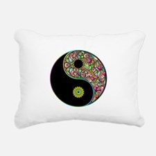 Yin Yang Symbol Psychedelic Colors Rectangular Can