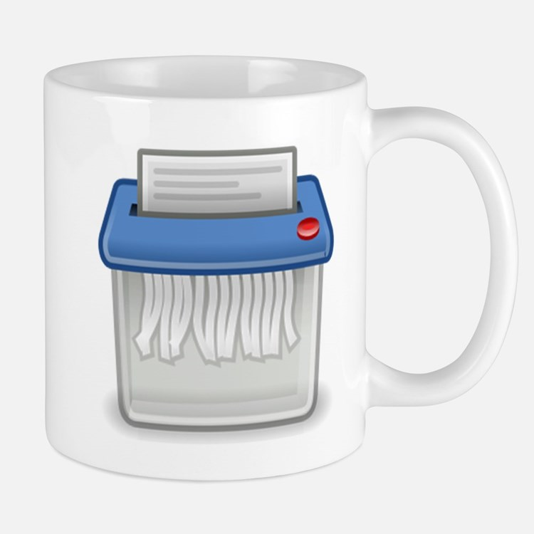 Paper Shredder Mugs