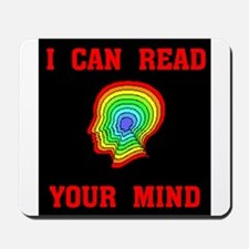 READ YOUR MIND Mousepad