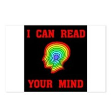 READ YOUR MIND Postcards (Package of 8)